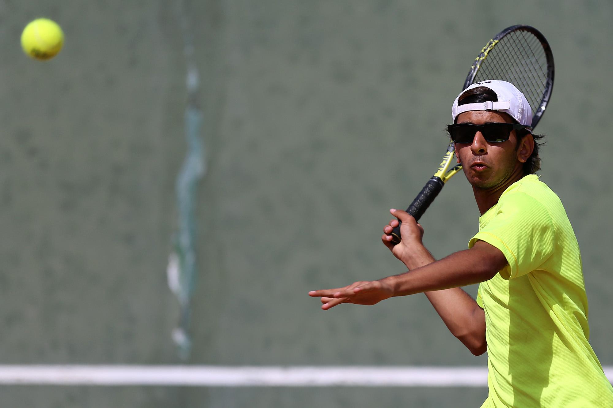 گزارش تصویری / مسابقات جام حذفی تنیس قهرمانی کشور در جزیره کیش