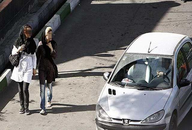 خودروی ۲۰۶ مزاحم بانوان در جزیره کیش توقیف شد