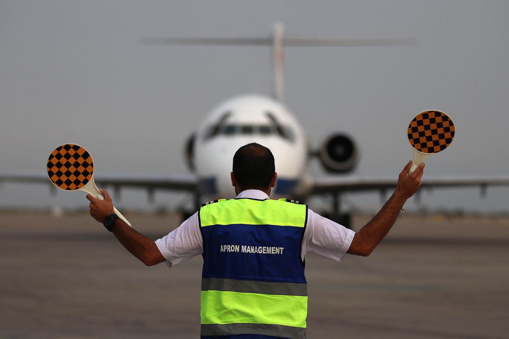 تردد مسافران جزیره کیش با ۸۲ پرواز در فرودگاه بین المللی کیش
