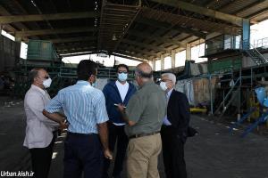 بررسی میدانی بازیافت توسط مدیرعامل شرکت عمران،آب و خدمات کیش