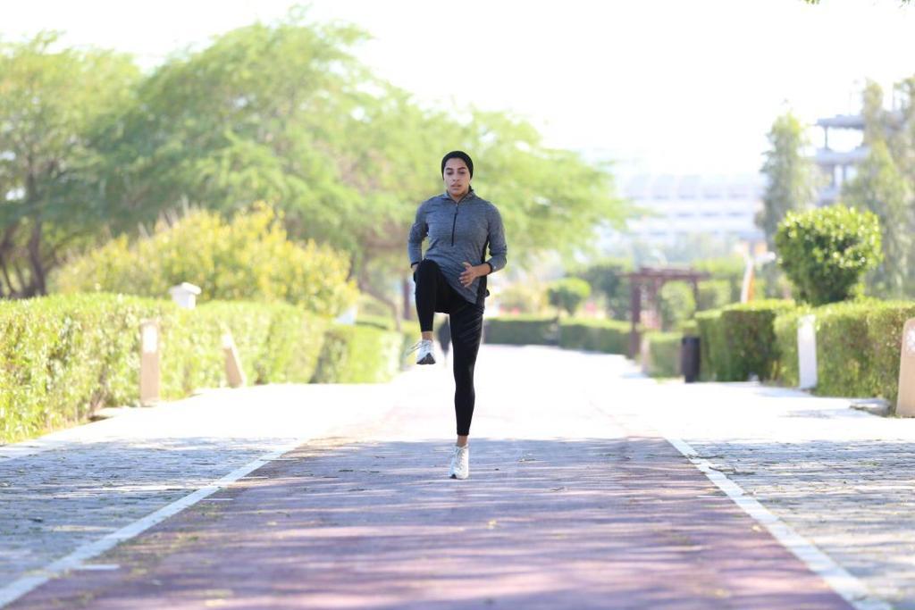 گفتگوی صبح کیش با شقایق عرب نژاد ورزشکار دو و میدانی جزیره کیش