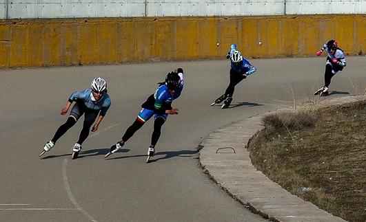 رقابت ورزشکار کیش در سومین مرحله انتخابی تیم ملی اسکیت