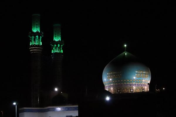 گزارش تصویری / افتتاح مسجد حضرت زینب در شب میلاد آن حضرت IMG 9593copy